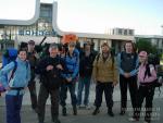 На вокзале в Златоусте перед походом в горы
