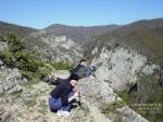 На вершине Большого Крымского Каньона